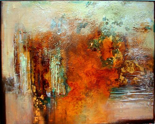 Patina Paintings On Canvas