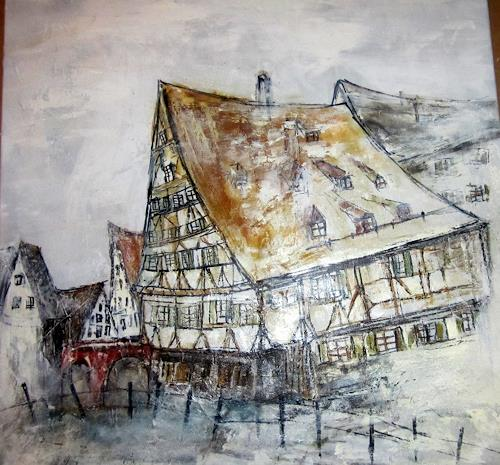 Rose Lamparter, Schiefes Haus Ulm, Architecture, Contemporary Art