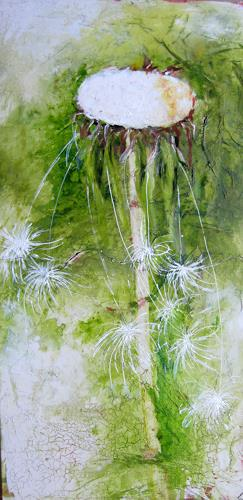 Rose Lamparter, Pusteblume, Plants, Abstract Art