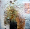 Rose Lamparter, rost/orange