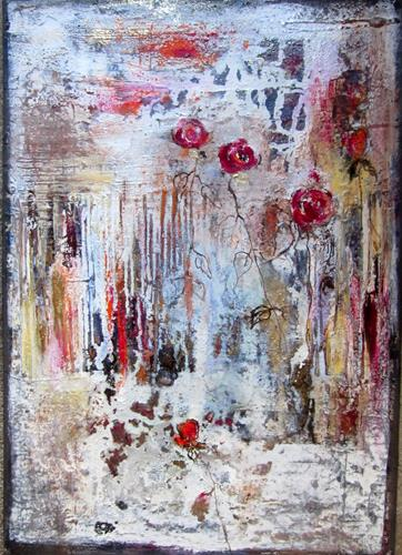 Rose Lamparter, Rosen antik, Abstract art, Abstract Art, Expressionism
