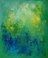 Roswitha-Klotz-Abstract-art-Miscellaneous-Plants-Modern-Age-Abstract-Art-Colour-Field-Painting