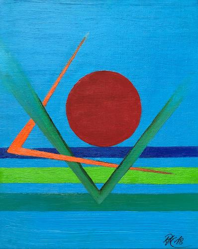Roswitha Klotz, Untitled, Abstract art, Abstract Art