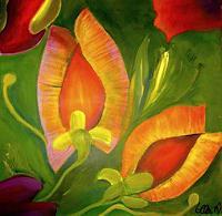 Ellen-Norgaard-Nature-Miscellaneous-Plants-Flowers-Modern-Age-Modern-Age