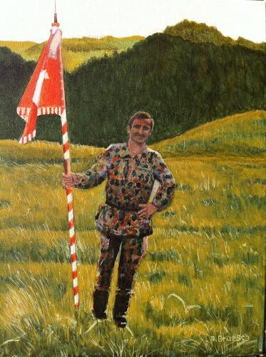 Reto Brüesch, Fahnenweihe, People: Men