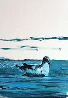 Reto-Brueesch-Animals-Water-Landscapes-Sea-Ocean-Modern-Age-Impressionism-Post-Impressionism