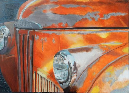 Reto Brüesch, US-Oldtimer, Traffic: Car, Naturalism