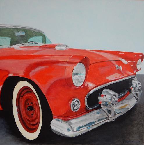 Reto Brüesch, Ford Thunderbird, Traffic, Realism