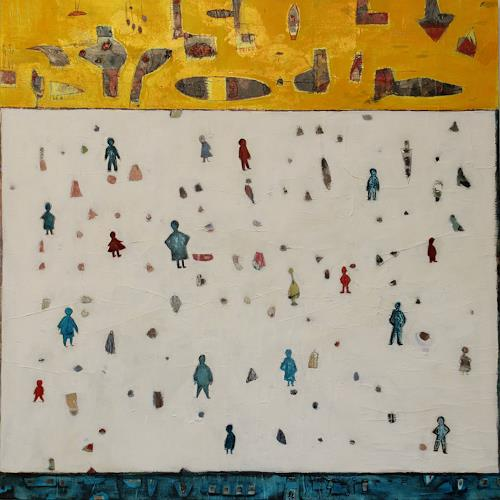 Doris Kummer, unterwegs, Miscellaneous People, Contemporary Art, Expressionism