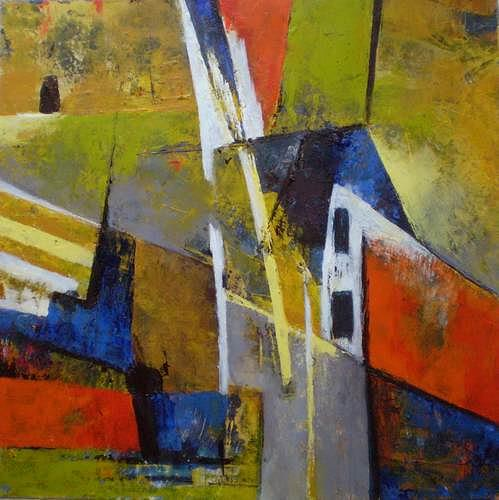 Gabriele Schmalfeldt, o. T, Abstract art, Miscellaneous Interiors, Abstract Expressionism