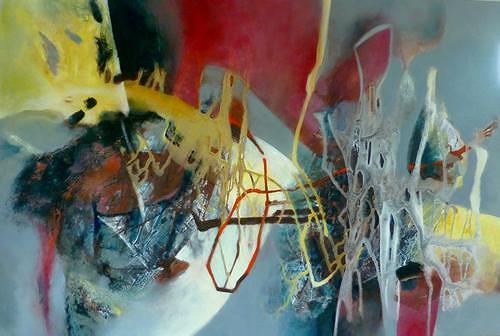 Gabriele Schmalfeldt, Sinnlicher Moment, Abstract art, Nature: Miscellaneous, Abstract Art, Abstract Expressionism