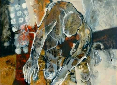 Gabriele Schmalfeldt, o.T., People, Abstract art, Abstract Art, Abstract Expressionism