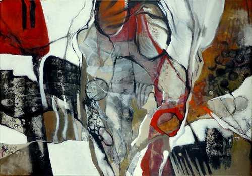 Gabriele Schmalfeldt, Im Rampenlicht, Abstract art, Miscellaneous People, Contemporary Art, Expressionism