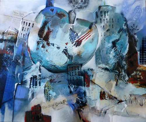 Gabriele Schmalfeldt, big apple, Architecture, Interiors, Modern Age, Abstract Expressionism