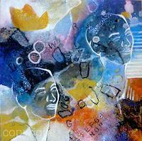 Gabriele-Schmalfeldt-People-Faces-Abstract-art-Contemporary-Art-Contemporary-Art