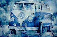 Gabriele-Schmalfeldt-Traffic-Bus-Emotions-Joy-Contemporary-Art-Contemporary-Art