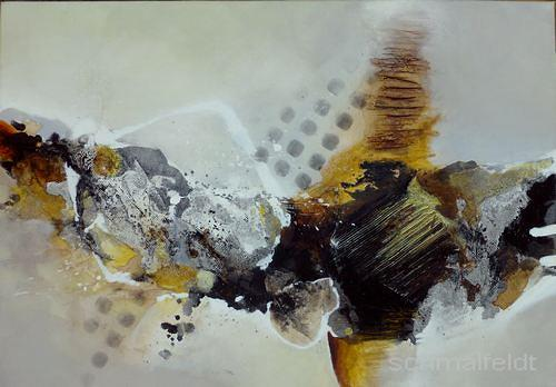 Gabriele Schmalfeldt, o.T., Abstract art, Poetry, Contemporary Art, Abstract Expressionism