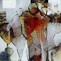 Gabriele-Schmalfeldt-People-Group-Situations-Contemporary-Art-Contemporary-Art