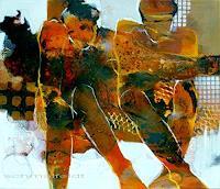 Gabriele-Schmalfeldt-People-Couples-Miscellaneous-Emotions-Contemporary-Art-Contemporary-Art