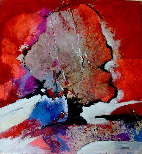 Gabriele Schmalfeldt, o.T. 16/19, Nature, Landscapes, Abstract Art, Abstract Expressionism