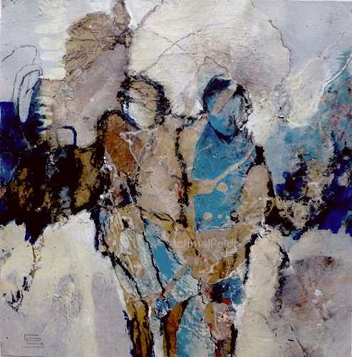 Gabriele Schmalfeldt, o.T. 17/19, People: Couples, Abstract art, Abstract Art, Expressionism