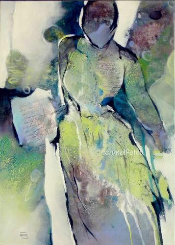 Gabriele Schmalfeldt, Briefe die ich schrieb, People: Women, Situations, Abstract Art, Expressionism