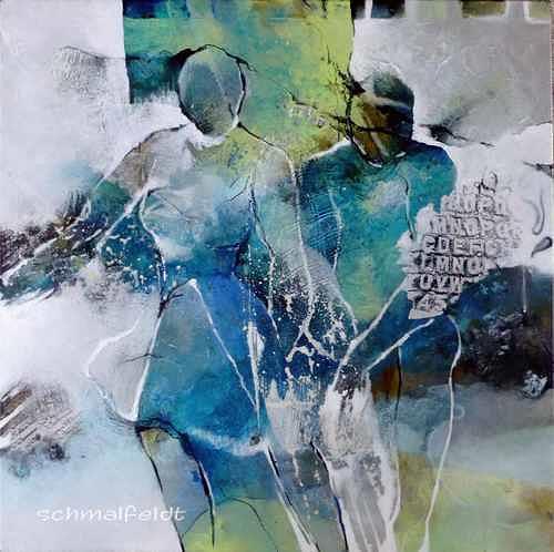 Gabriele Schmalfeldt, Abseits des Üblichen, People: Couples, Abstract art, Abstract Art