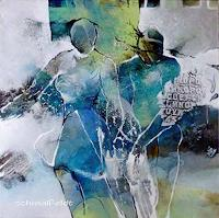 Gabriele-Schmalfeldt-People-Couples-Abstract-art-Modern-Age-Abstract-Art