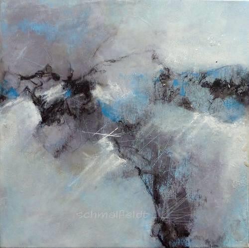 Gabriele Schmalfeldt, o.T. 23/19, Abstract art, Nature, Abstract Art