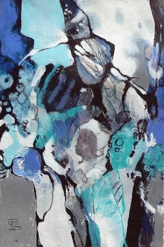 Gabriele Schmalfeldt, o.T. 25/19, Miscellaneous Emotions, People, Abstract Art