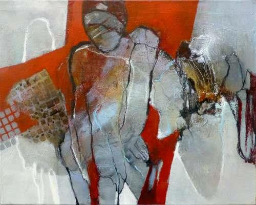 Gabriele Schmalfeldt, Alles wird gut, Abstract art, People, Contemporary Art, Abstract Expressionism