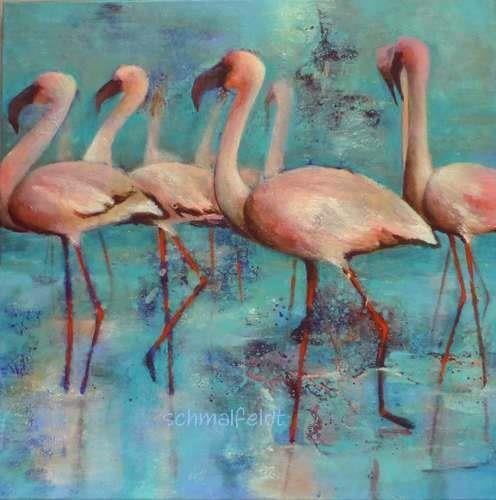 Gabriele Schmalfeldt, o.T. 18/20, Animals: Water, Landscapes: Sea/Ocean, Contemporary Art, Expressionism