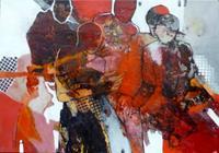 Gabriele-Schmalfeldt-People-Group-Society-Modern-Age-Abstract-Art