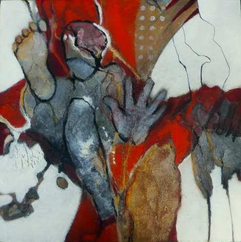 Gabriele Schmalfeldt, Jack in the box, Humor, Burlesque, Abstract Art, Abstract Expressionism