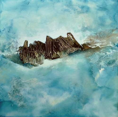 Gabriele Schmalfeldt, o.T. 37/20, Nature: Water, Landscapes: Sea/Ocean, Abstract Art, Expressionism
