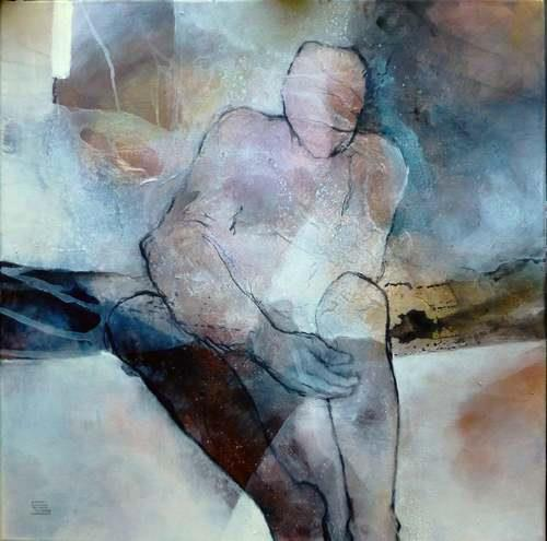 Gabriele Schmalfeldt, o.T. 38/20, Miscellaneous People, Miscellaneous Emotions, Contemporary Art, Expressionism