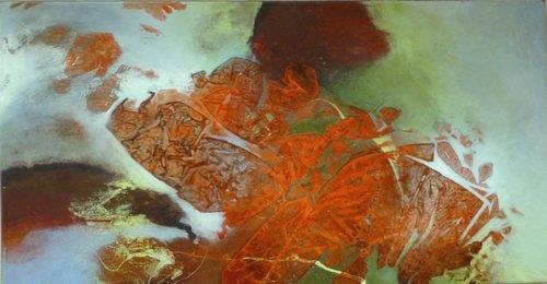 Gabriele Schmalfeldt, o.T. 39/20, Poetry, Abstract art, Non-Objectivism [Informel], Expressionism