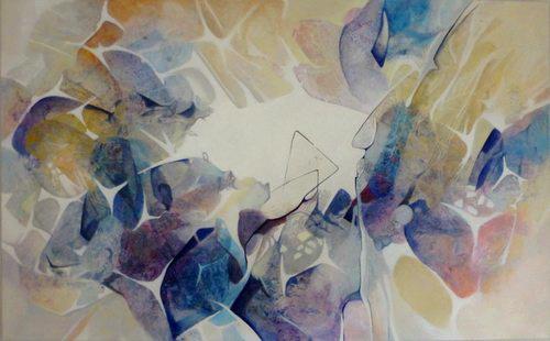 Gabriele Schmalfeldt, o.T. 05/21, Abstract art, Poetry, Contemporary Art