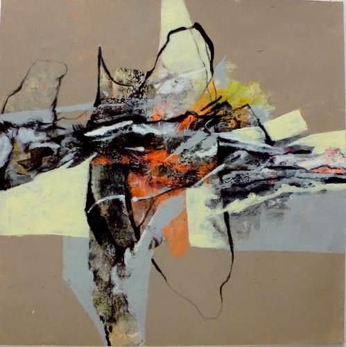 Gabriele Schmalfeldt, o.T., Abstract art, Miscellaneous Landscapes, Abstract Art, Expressionism