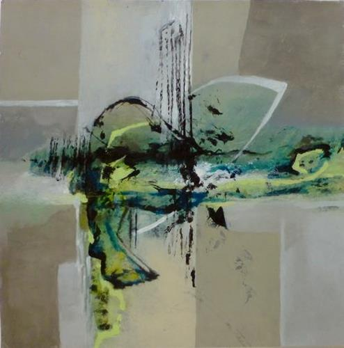 Gabriele Schmalfeldt, o.T. 08/21, Abstract art, Decorative Art, Contemporary Art