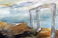Andrea-Huber-Miscellaneous-Buildings-Landscapes-Sea-Ocean-Contemporary-Art-Neo-Expressionism
