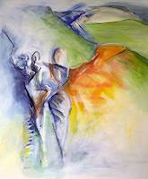 Andrea-Huber-People-Group-Society-Contemporary-Art-Neo-Expressionism