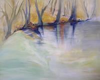 Andrea Huber, Bäume am Quelltopf