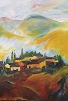 Andrea-Huber-Landscapes-Summer-Decorative-Art-Contemporary-Art-Contemporary-Art