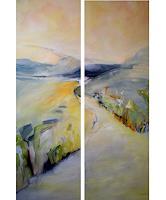 Andrea-Huber-Landscapes-Summer-Miscellaneous-Contemporary-Art-Contemporary-Art