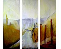 Andrea-Huber-Landscapes-Summer-Miscellaneous-Contemporary-Art-Neo-Expressionism