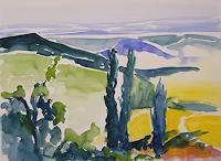 Andrea-Huber-Landscapes-Summer-Landscapes-Summer-Contemporary-Art-Neo-Expressionism