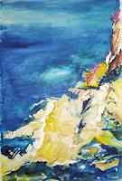 Andrea-Huber-Landscapes-Summer-Nature-Water-Contemporary-Art-Neo-Expressionism