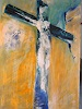 A. Huber, Kreuz und Auferstehung