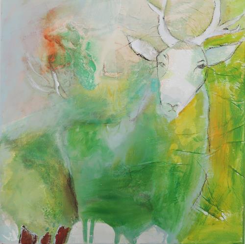 Andrea Huber, Hirsch 2, Miscellaneous Animals, Mythology